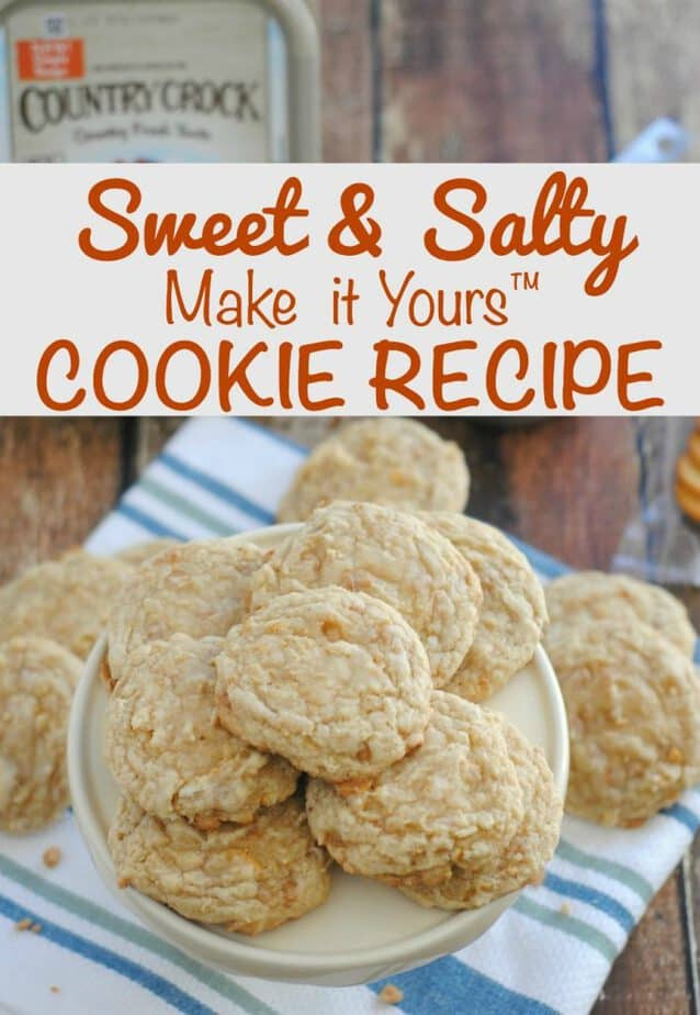 Sweet & Salty Cookies from This Mama Loves