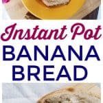 Instant Pot Banana Bread Recipe | This Mama Loves