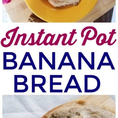 Instant Pot Banana Bread Recipe