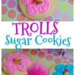 Trolls Sugar Cookie Recipe | This Mama Loves