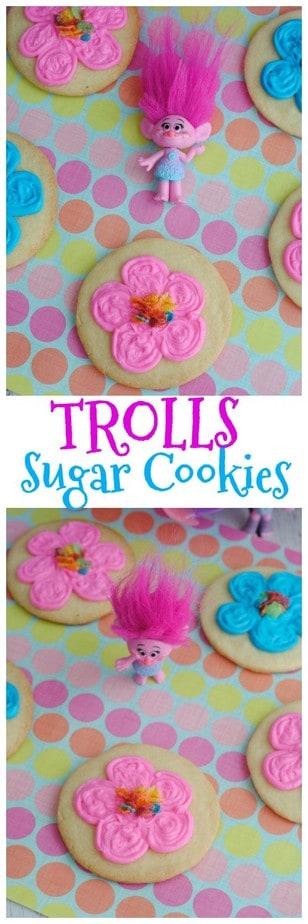 Trolls Sugar Cookie Recipe   This Mama Loves