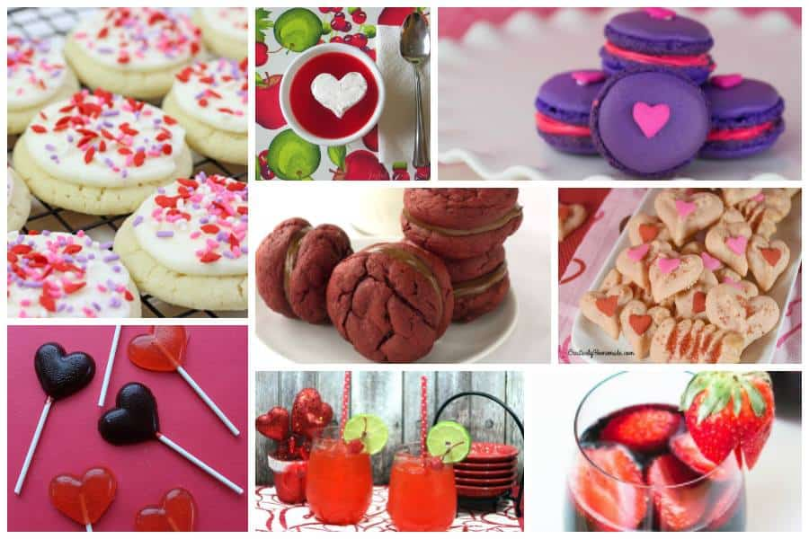delicious dishes party favorites from last week - Valentine Dishes