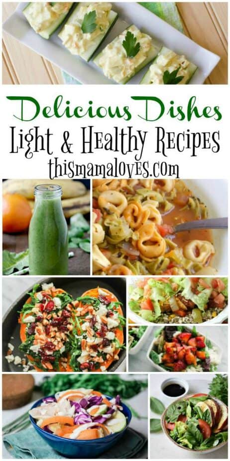Delicious Dishes Recipe Party Light Healthy Favorites | This Mama Loves