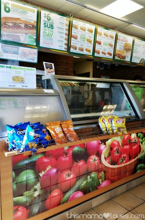 Add More Fruits and Vegetables with Subway +Color