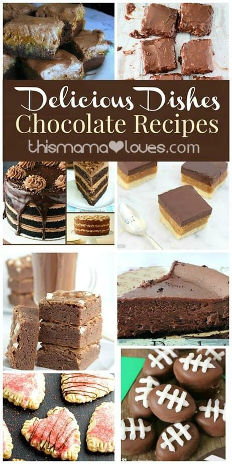 Delicious Dishes Chocolate Party Favorites LONG