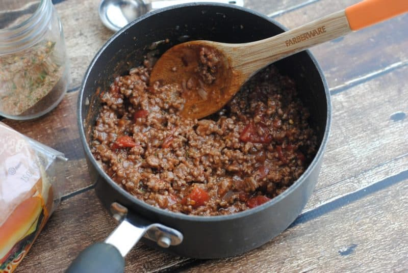Jamaican Jerk Sloppy Joes