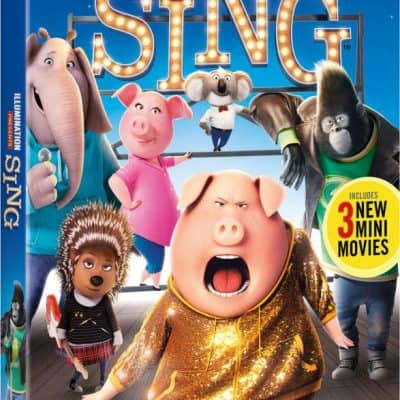 Family Movie Night! Watch SING Special Edition at home March 3rd