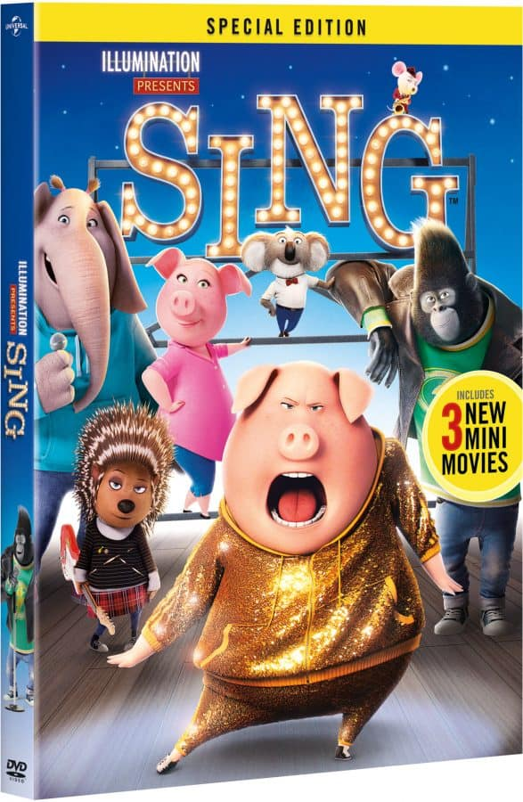 Family Movie Night! Watch SING Special Edition at home ...