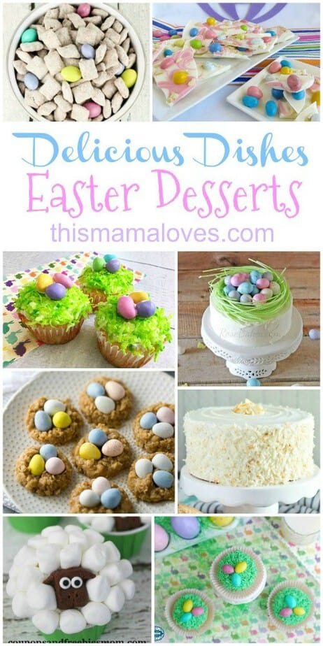 Delicious Dishes Recipe Party Easter Desserts Hero