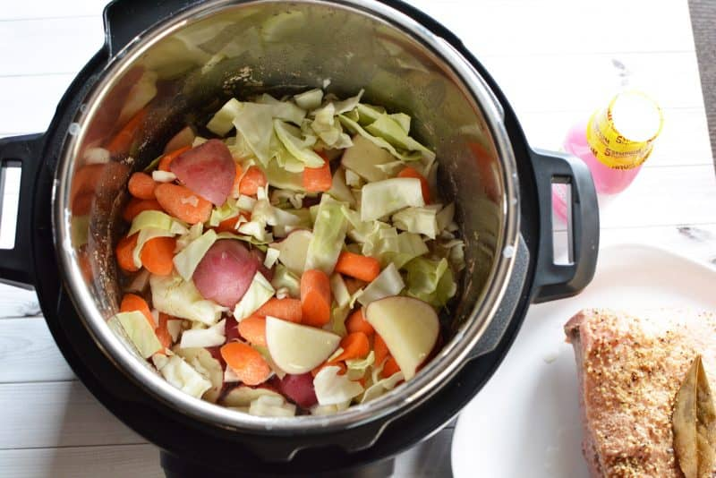 instant pot corn beef and cabbage