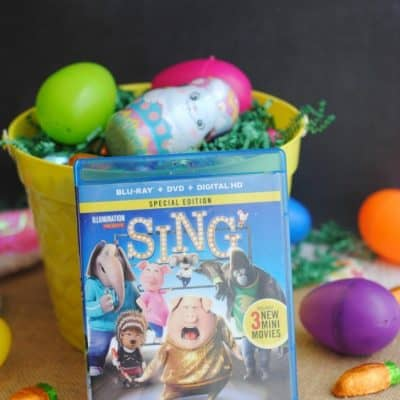 SING Easter Basket Snacks & Treats