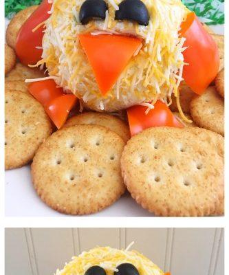 Easter Appetizer: Chick Cheeseball Recipe