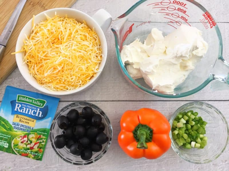 chick cheeseball ingredients