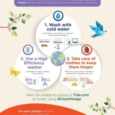 Tide purclean World Wildlife and Kristen Bell #CleanPledge #TwitterParty