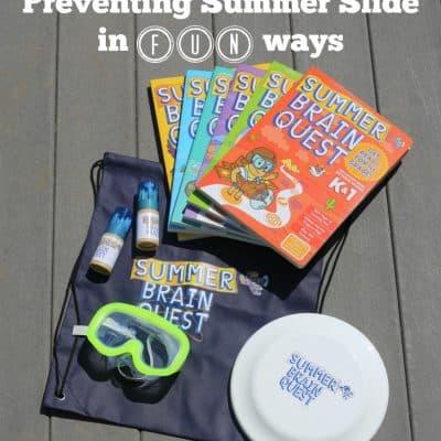 Preventing Summer Slide in FUN Ways