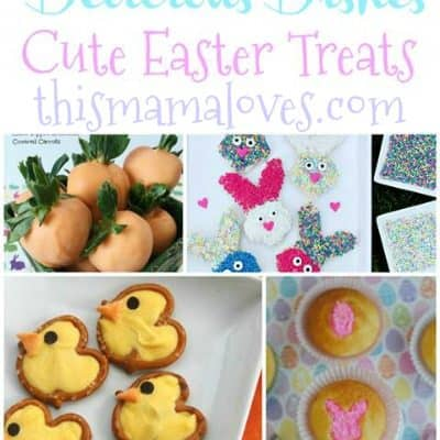 Delicious Dishes Recipe Party: Cute Easter Treats Recipes