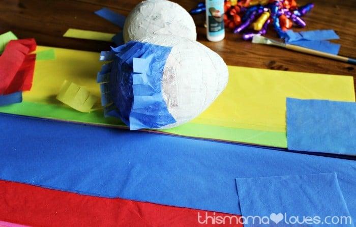 How to Make a Mini Pinata