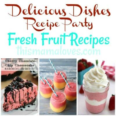 Clever Fresh Fruit Recipes: Delicious Dishes Recipe Party