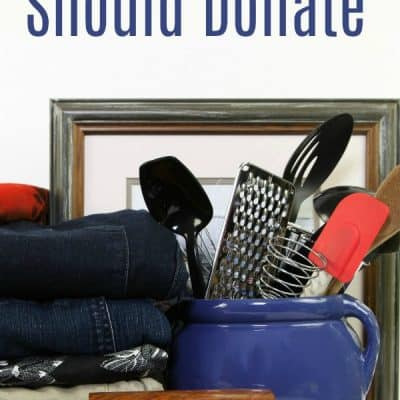10 Things You Should Donate that Will be Useful to Others