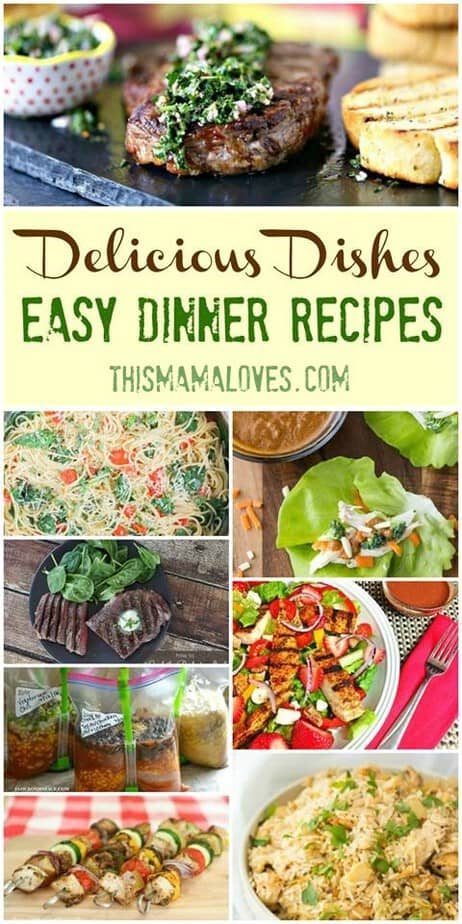 Easy Dinner Recipes Ideas Delicious Dishes Recipe Party Hero