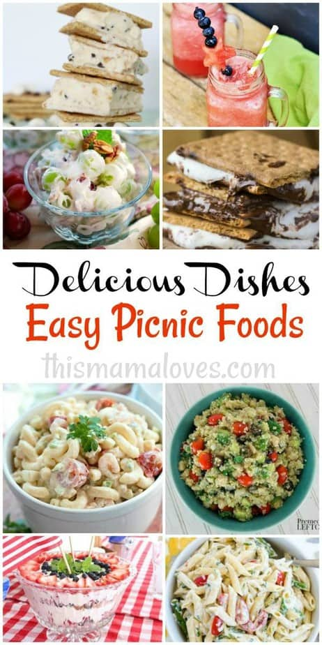 Easy Picnic Foods Recipes Delicious Dishes Recipe Party This Mama