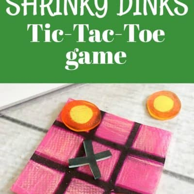 How to Make a Shrinky Dinks Game: Tic-Tac-Toe