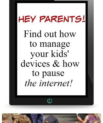 How to manage your kids devices and pause the internet!