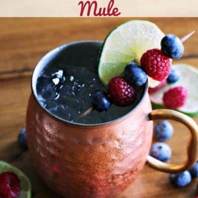 Mixed Berry Moscow Mule Cocktail Recipe