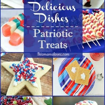 Amazing Patriotic Treats Recipes: Delicious Dishes Recipe Party