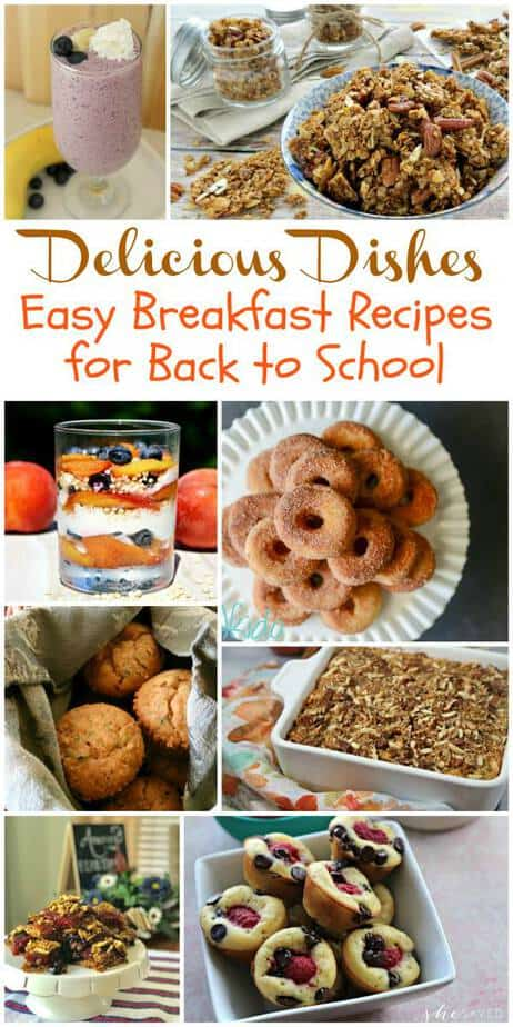 Easy Recipes for Back to School Delicious Dishes Party