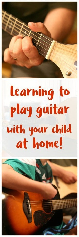 Learning to play guitar with your child at home - learn to play guitar at home- online guitar lessons- #FenderPlay