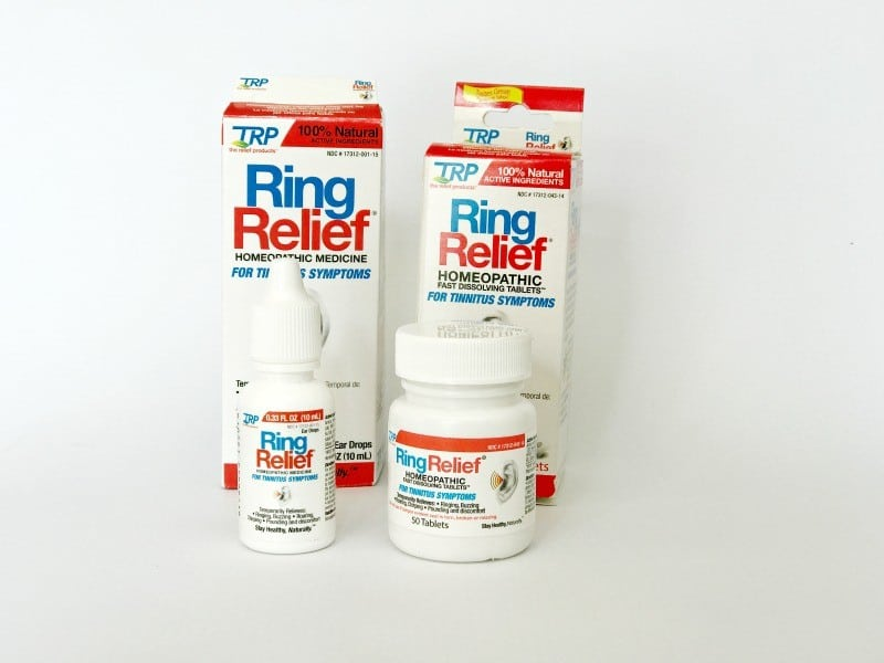 ring relief homeopathic tinnitus relief