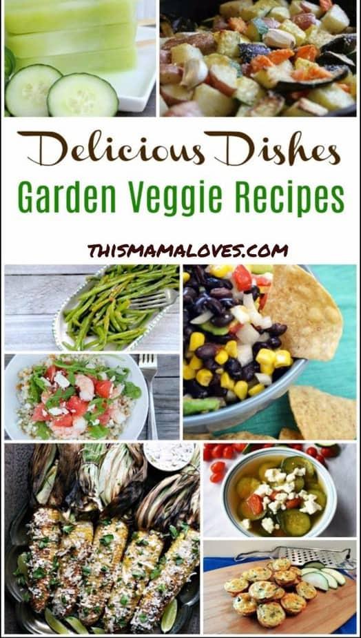 Garden Veggie Recipes Ideas Delicious Dishes Recipe Party