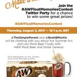 A&W Float Memories Contest