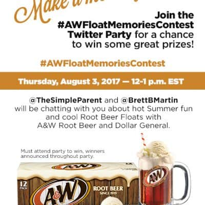 Join us for #AWFloatMemories Twitter Party 8/3