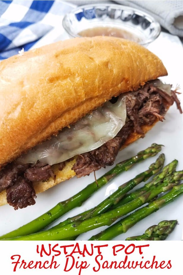Instant Pot French Dip Sandwiches This Mama Loves