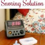 Non Invasive Snoring Solution that Works from This Mama Loves