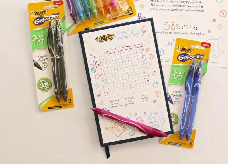 happy left handers day notebook