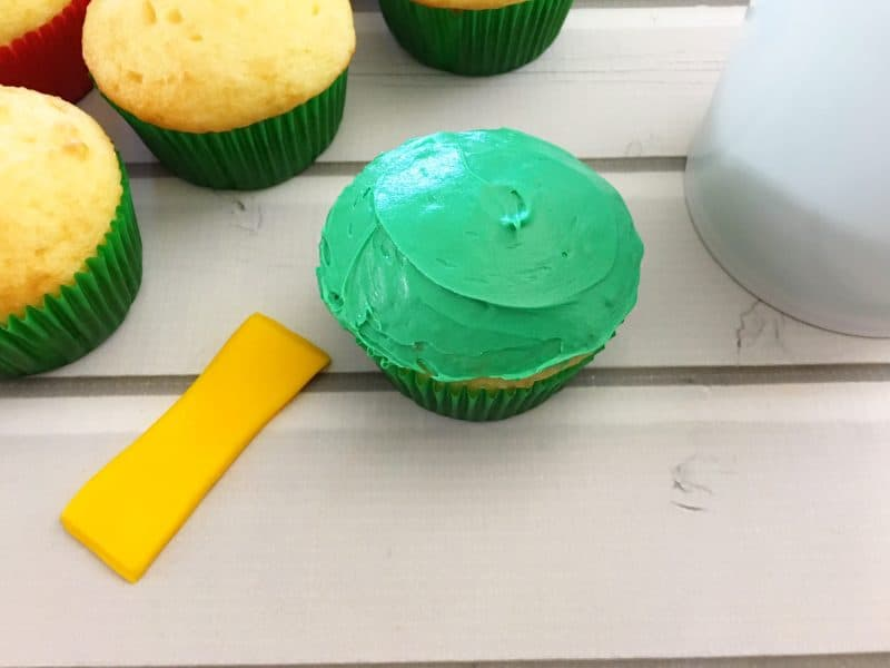 Easy Lego Ninjago Movie Cupcakes 10