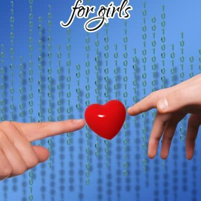 Great STEM apps for Girls plus Click'd Book story of a girl who codes
