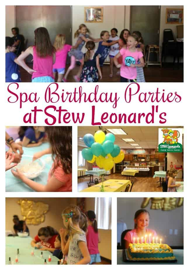 Spa Birthday Parties in CT at Stew Leonard's- spa parties in CT- spa parties for kids- birthday parties in CT- birthday parties at Stew Leonard's