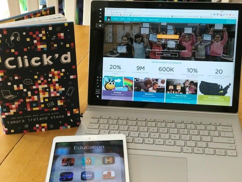 Stem apps for girls ClickdBook