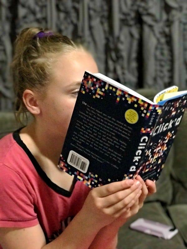 reading clickd book