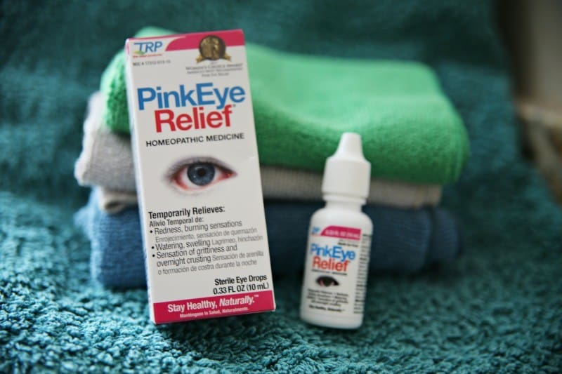What to do when your kid has pink eye from This Mama Loves