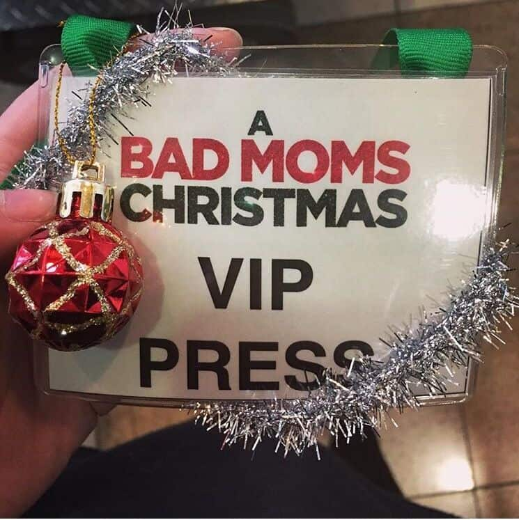 Watch Bad Moms Christmas.On The Set With A Bad Moms Christmas Movie This Mama Loves