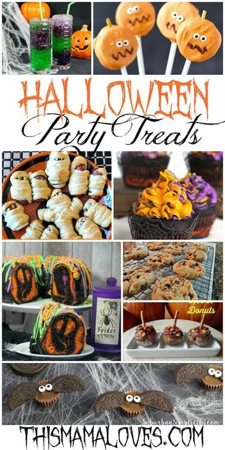 Cute, spooky and creepy? Yes! Check out these Fun Halloween Party Treat Recipes!