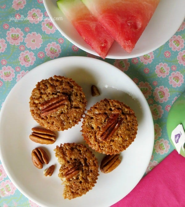 Pecan Pie Muffins from Joyful Homemaking (1)