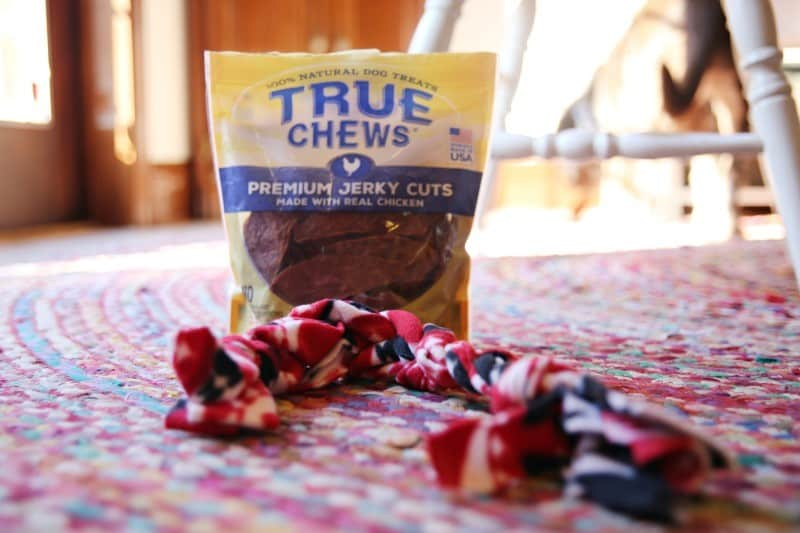 True Chews Made in USA Dog Treats and DIY Dog Toy