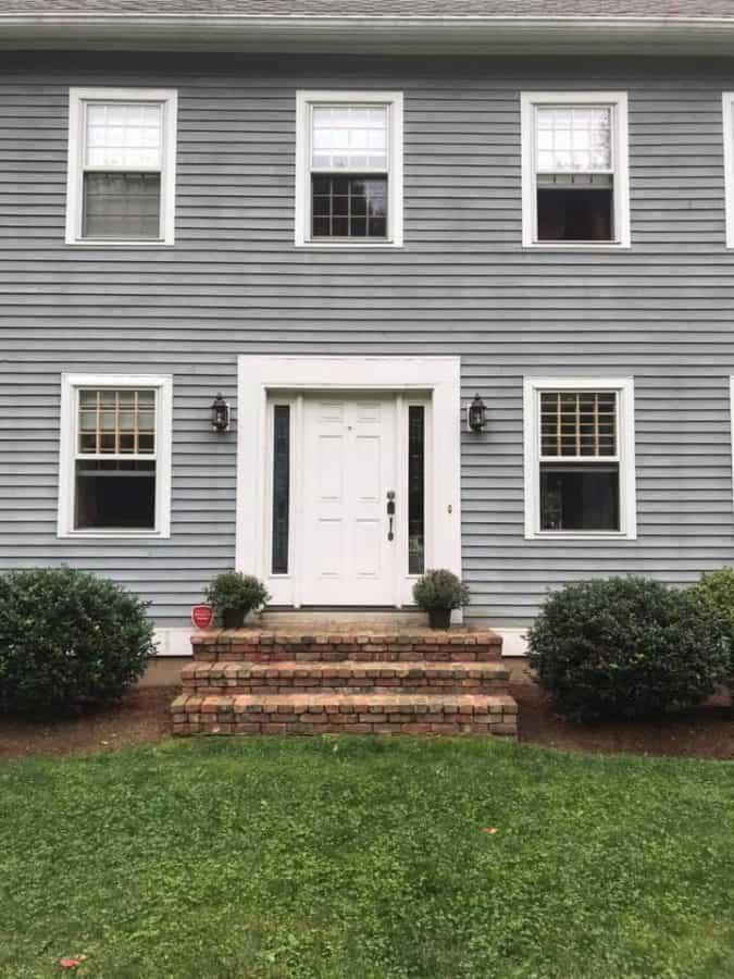 front door plain