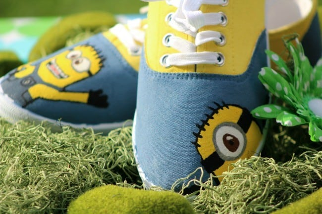 DIY Minions Shoes | Style on Main